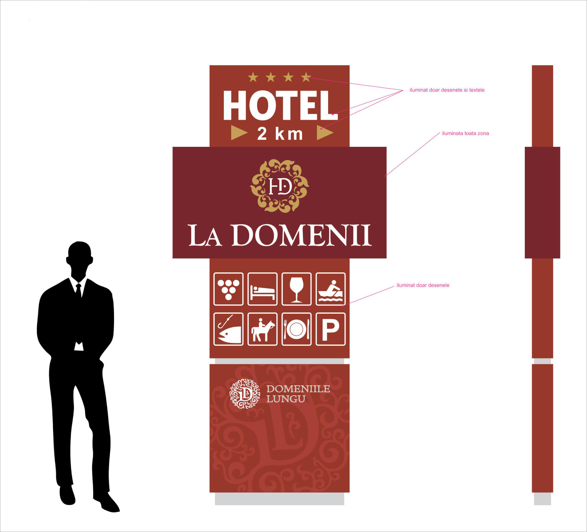 Hotel La Domenii Cryo Web Advertising